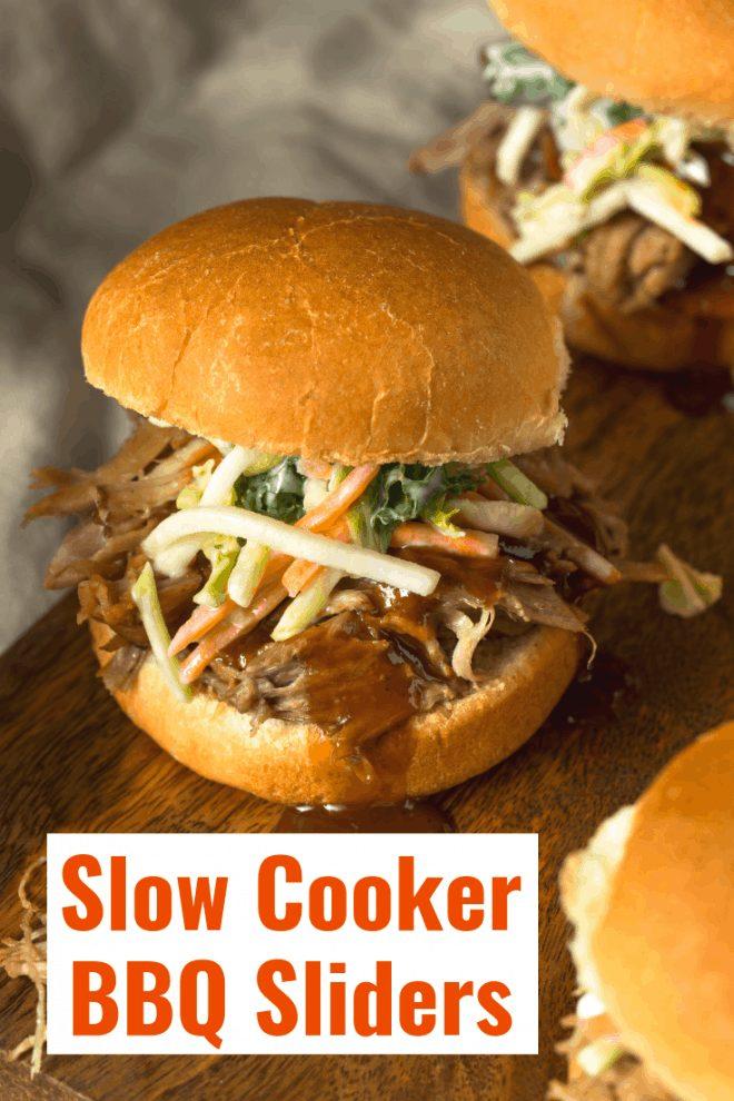 Slow Cooker BBQ Sliders
