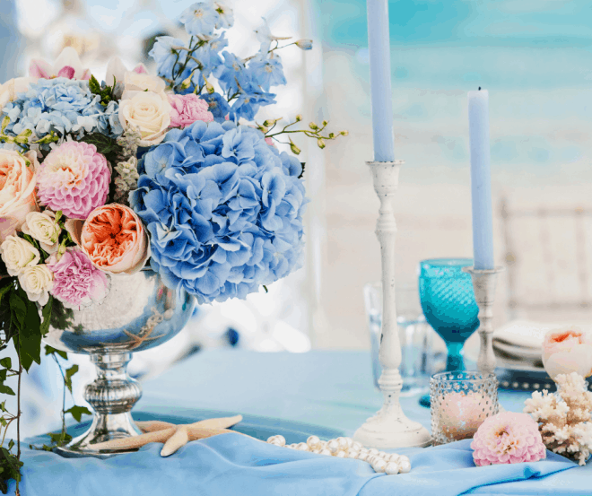 Party decor for extraordinary event