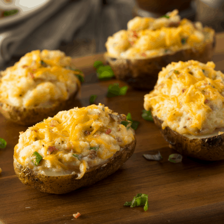 Favorite Thanksgiving Side Dishes including Stuffed Potatoes