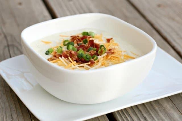 Easy & Quick Potato Soup