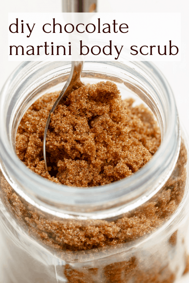 Chocolate Martini Body Scrub
