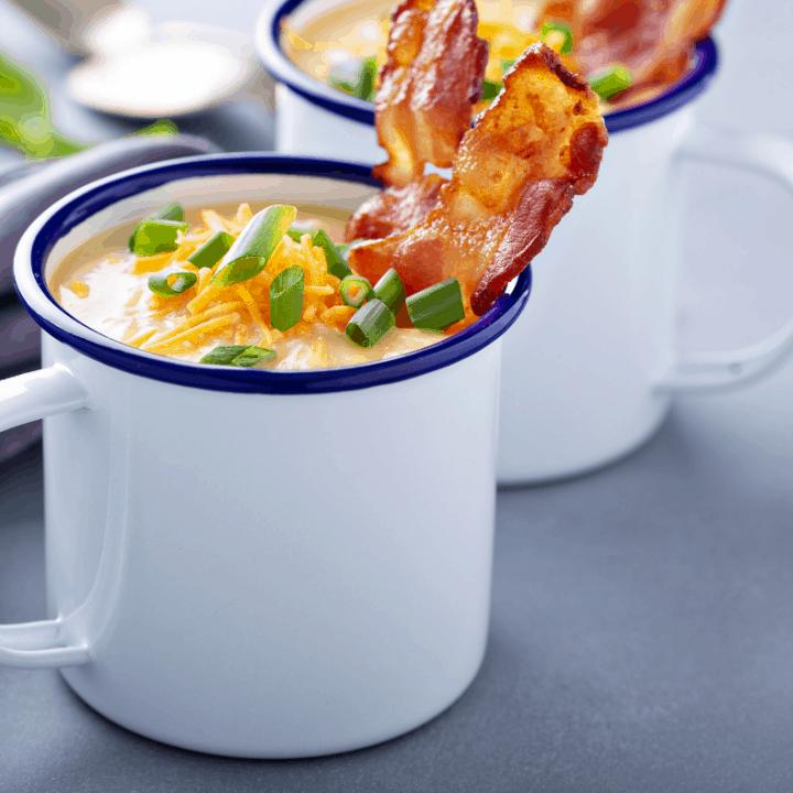 Quick & Easy Baked Potato Soup