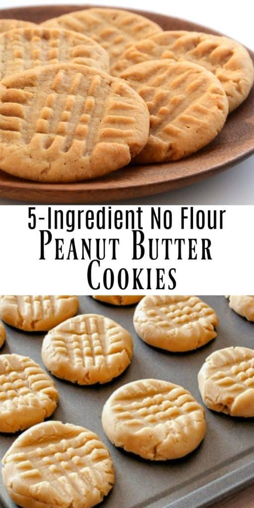 Peanut Butter Cookies on tray
