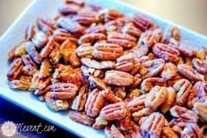 Holiday Movie Night Voodoo Pecans AKA Spicy Pecans