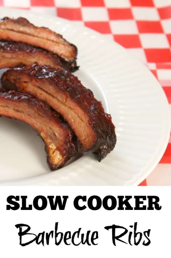 Slow Cooker Barbecue Ribs - An Alli Event
