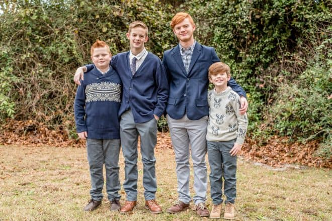 I Have Been Blessed - Updated photos of my four grandsons