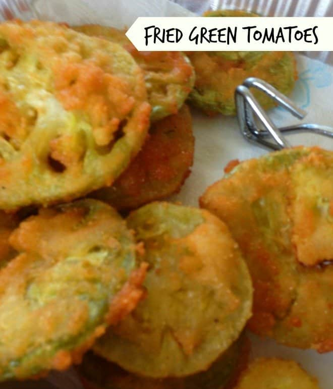 The Best Fried Green Tomatoes!