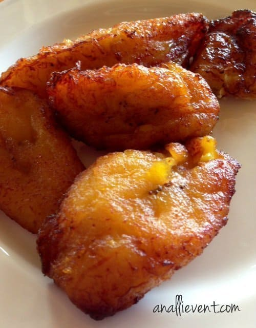 Fried Plantains - one of my all time favorite foods!