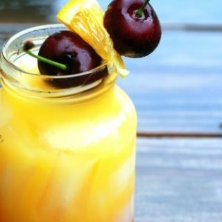 No Tequila-Just the Sunrise Mocktails