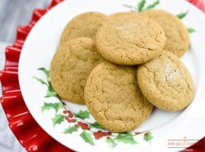 Gingersnap Cookies are easy to make