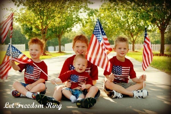 4th of July photo of 4 boys - 10 Tips To Looking Great In Photos