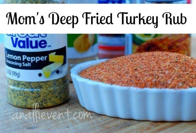 Deep Fried Turkey Rub