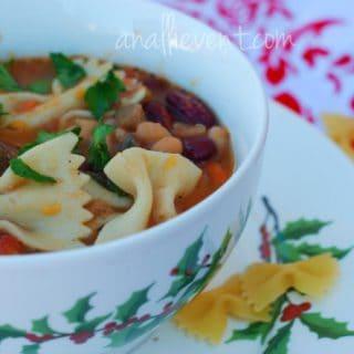 Pasta e Fagioli and Sweet Potato Soup
