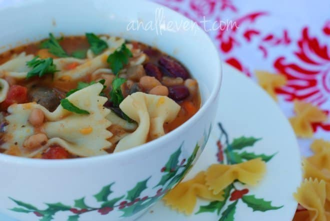 Pasta e Fagioli and Sweet Potato Soup