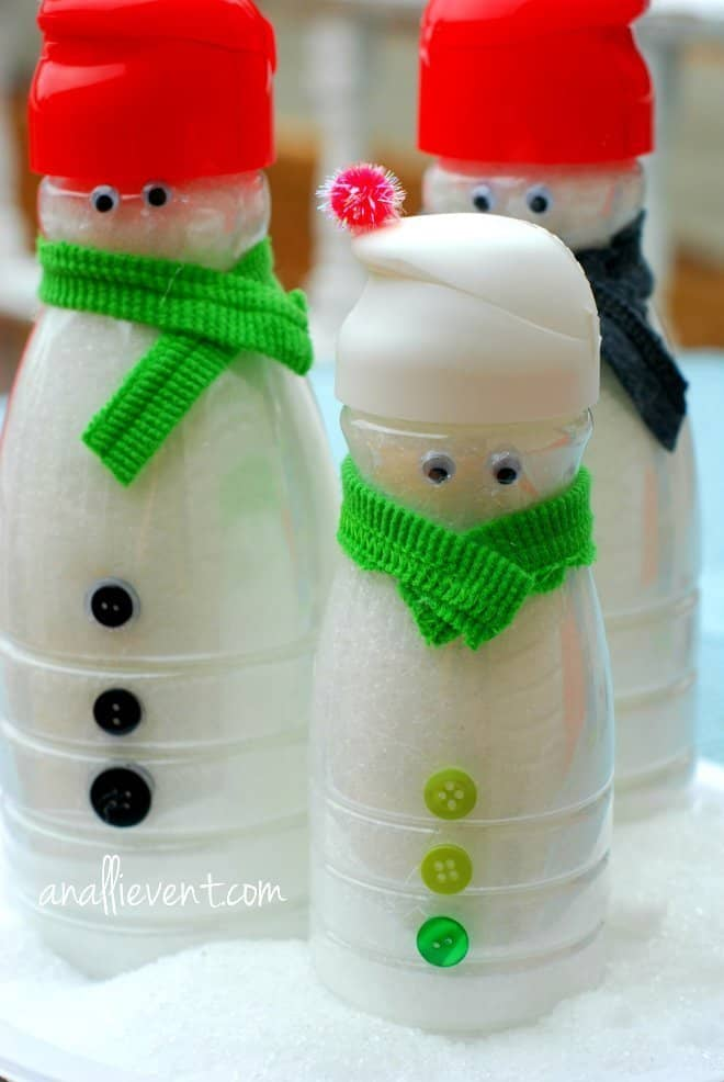 Kid Friendly Crafts - Snow Family