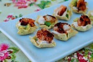 shrimp taco bites #shrimp #taco #bites