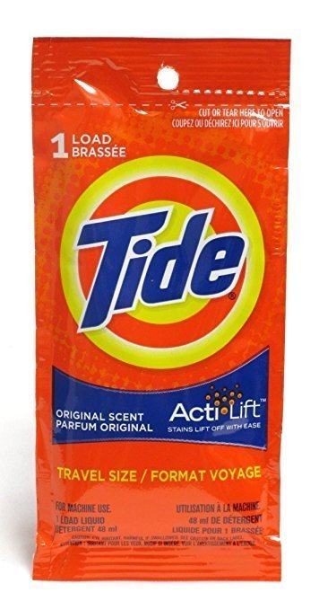 Travel Size Laundry Detergent and Top 10 Packing Tips