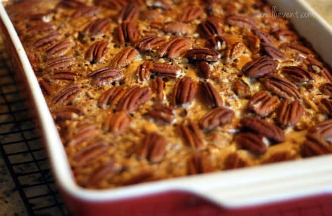 How to Make Dixie's Pecan Pie Cobbler