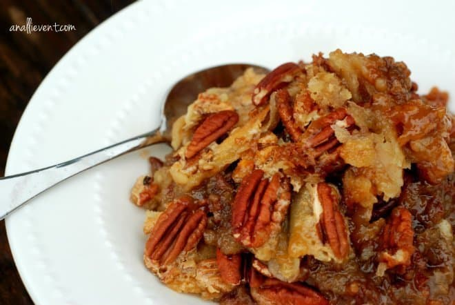 Dixie's Pecan Pie Cobbler