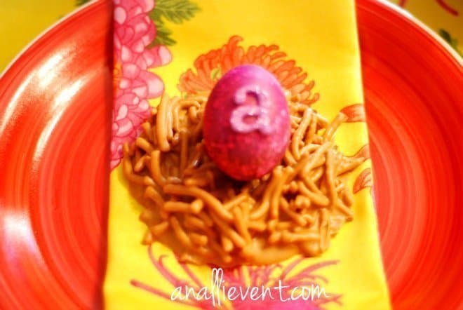 Easter Egg Nest Candy