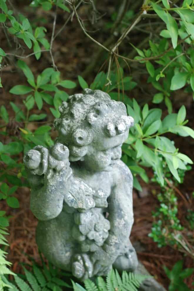 cherub - garden tour