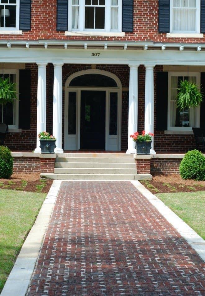 walkway - Porch Tour