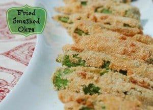 Smashed-Fried-Okra