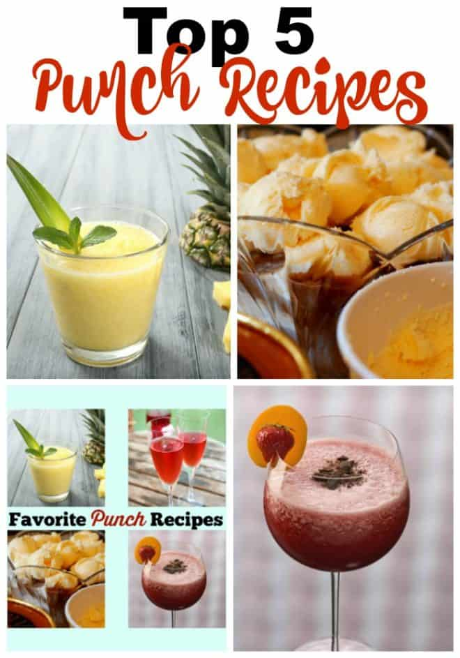 Favorite Punch Recipes