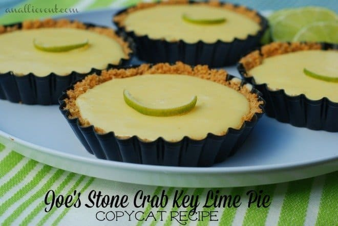 Joe's Stone Crabs Key Lime Pie and Favorite Desserts