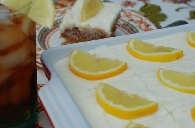 Sweet Tea & Lemonade Cake