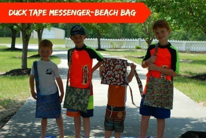 Duck Tape Messenger Bag