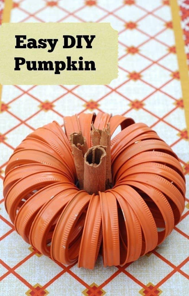 Easy DIY Pumpkin