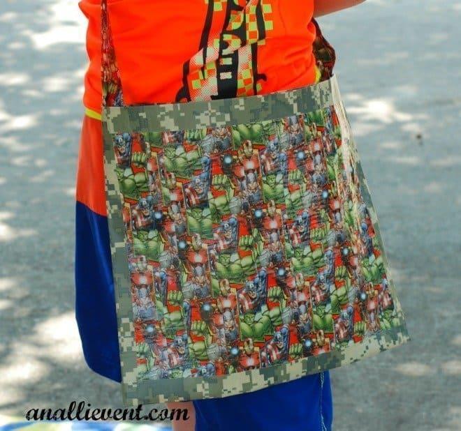 Duck Tape Beach Bag