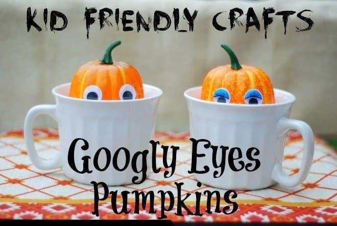 Googly Eyes Pumpkin Crafts