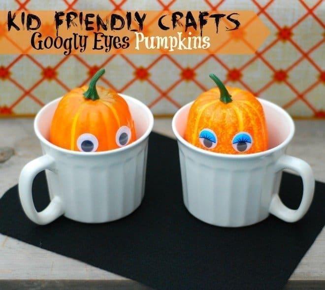 Googly Eyes Pumpkins