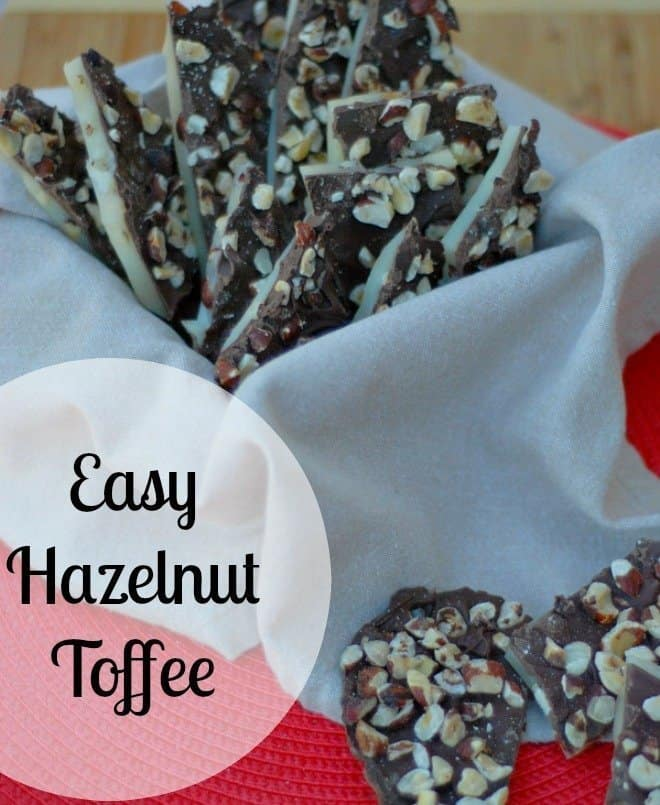 Easy Hazelnut Toffee is perfect for that holiday party!