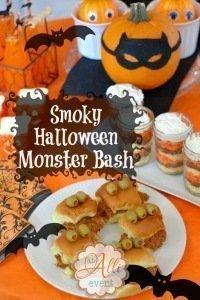 Smoky Halloween Monster Bash