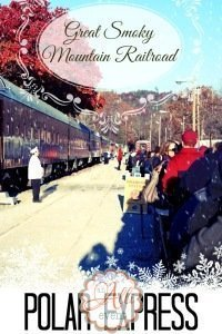 Polar Express Train Ride in the Smoky Mountains