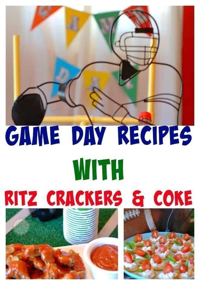 Game Day Recipes With Ritz and Coke