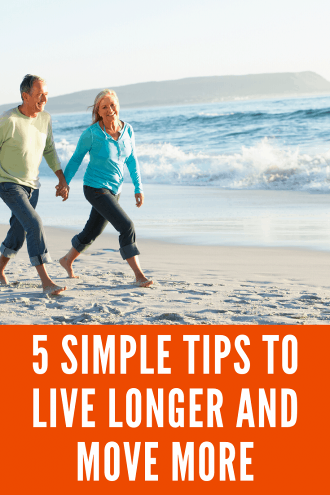 Couple Walking on the Beach - 5 Tips for Healthy Living