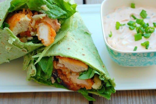 Chicken Cordon Bleu Wrap