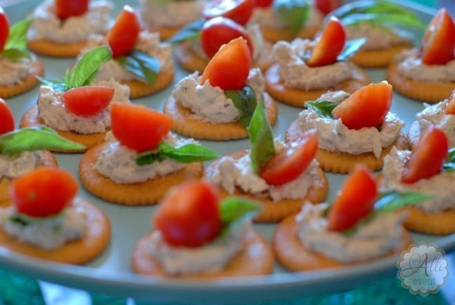 Game Day Herbed Cheese Appetizers