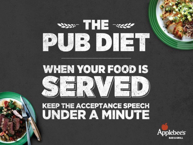 Applebee's Pub Diet