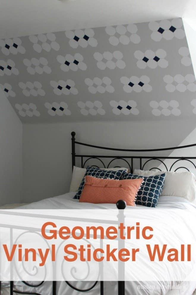 Geometric Vinyl Wall Decor
