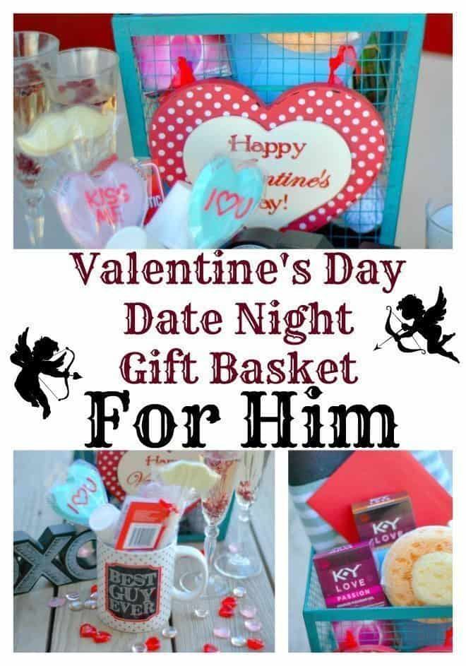 Valentine S Day Date Night Gift Basket For Him An Alli Event
