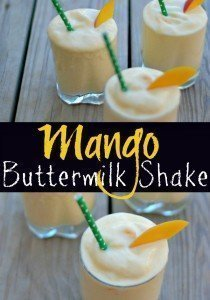 Mango Buttermilk Shake