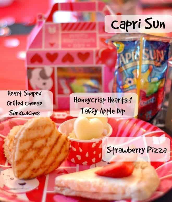 Capri Sun Party Menu