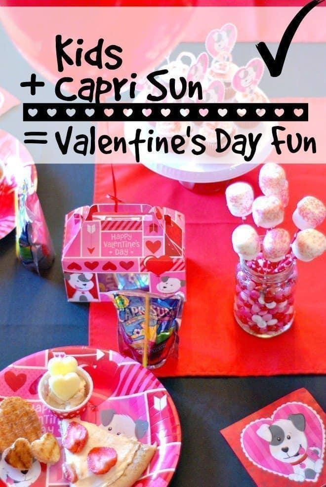 Kids Capri Sun Valentine S Day Fun An Alli Event