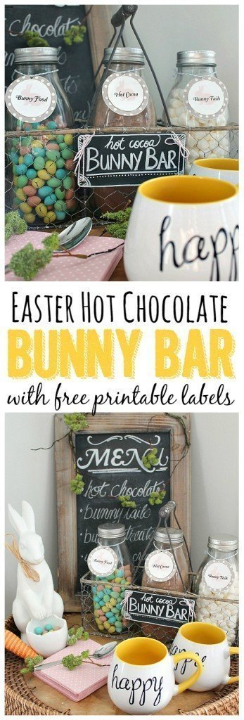 Easter Hot Cocoa Bar