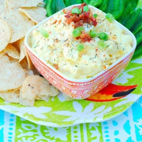 Zippy Egg Salad Dip